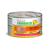 trainer natural small toy puppy junior con pollo 150 g
