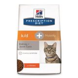 hill s pet nutrition prescription diet k d mobility cat dry