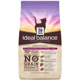 hill's cat ideal balance feline adult no grain pollo e patate 1,5 kg