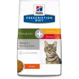 hill's cat prescription diet metabolic urinary stress