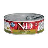 farmina natural & delicious wet cat quinoa urinary 80 gr