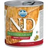 farmina natural & delicious wet dog ancestral grain pollo melograno 285 gr