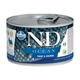 farmina natural & delicious wet dog ocean trota salmone 140 gr