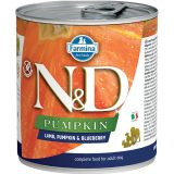 farmina natural & delicious wet dog pumpkin agnello zucca mirtillo 285 gr