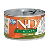 farmina natural & delicious wet dog pumpkin mini anatra zucca 140 gr