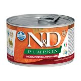 farmina natural & delicious wet dog pumpkin mini pollo zucca melograno 140 gr