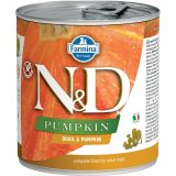 farmina natural & delicious wet dog pumpkin quaglia zucca 285 gr