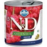 farmina natural & delicious wet dog quinoa digestion 285 gr