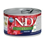 farmina natural & delicious wet dog quinoa mini digestion 140 gr