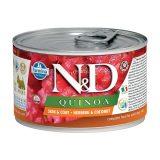 farmina natural & delicious wet dog quinoa skin & coat mini aringa cocco 140 gr