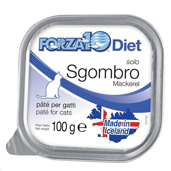 Forza 10 cat solo diet sgombro amore animale shop for Vaschetta tartarughe prezzo