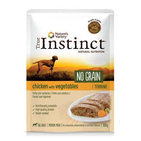 True Instinct Dog No Grain Adult Medium Maxi Pollo con Verdure