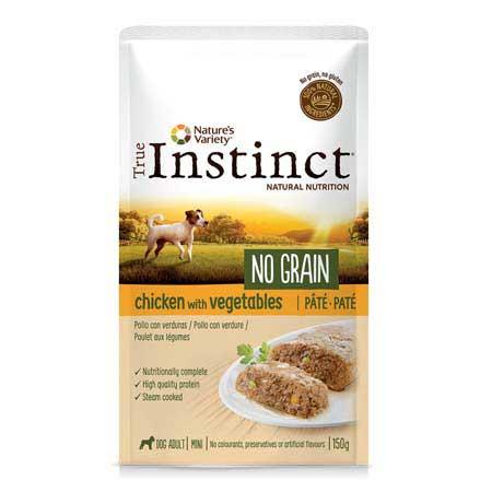 True Instinct Dog No Grain Adult Mini Pollo con Verdure