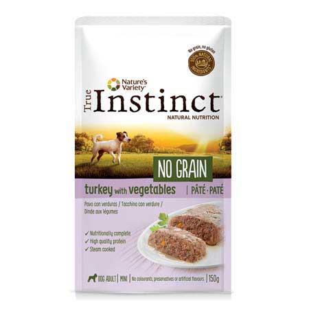 True Instinct Dog No Grain Adult Mini Tacchino con Verdure