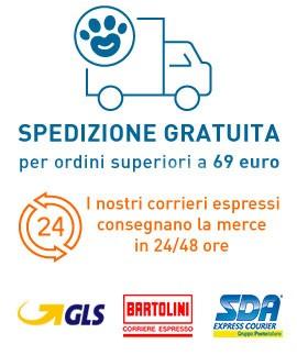 Consegna in 24 ore con corriere espresso Bartolini e GLS