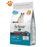 Schesir-Cat-Sterilized-&-Light-Pesce-Cibo-Secco-400-g-1.5-kg-10-kg