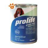 prolife-Dog-Sensitive-Grain-Free-Pesce-Patate-400-g