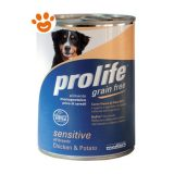 prolife-Dog-Sensitive-Grain-Free-Pollo-Patate-400-g