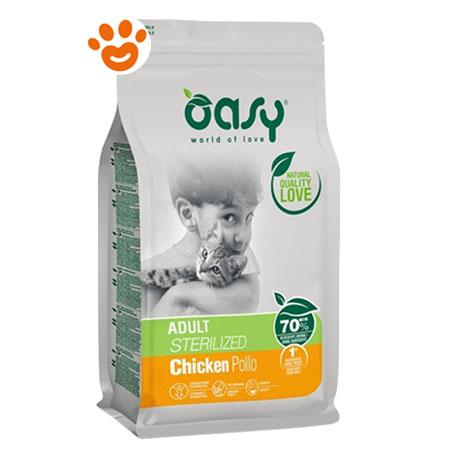 Oasy Cat Adult Sterilized Pollo