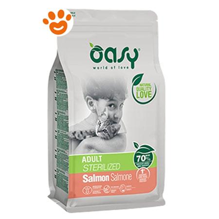 Oasy Cat Adult Sterilized Salmone