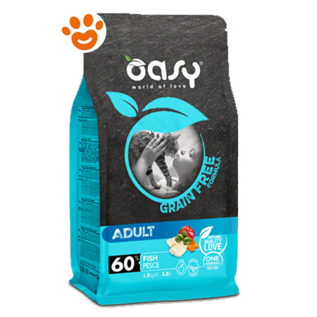 Oasy Cat Grain Free Adult Pesce