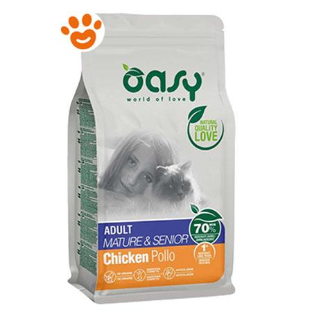 Oasy Cat Mature & Senior Pollo